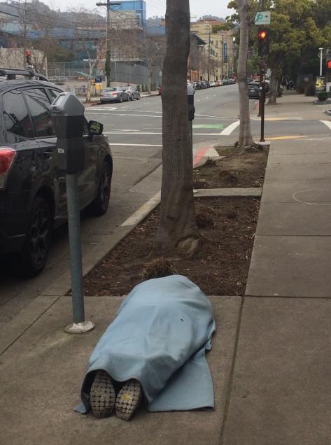 Durant 5 man on sidewalk Feb 11 2018