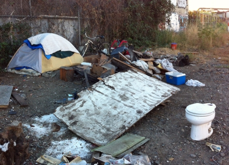 tent-and-trash
