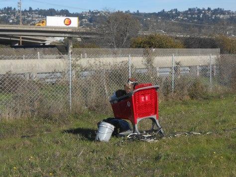 Cart run aground -- with stolen goods