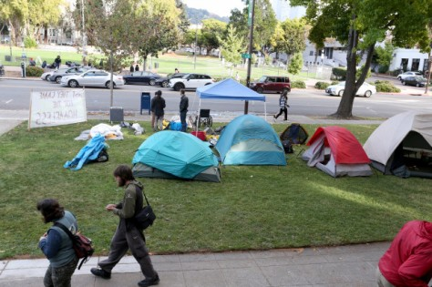 BERKELEY HOMELESS ENCAMPMENT