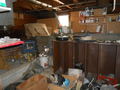 Kaipaka items stored in laundry room 1