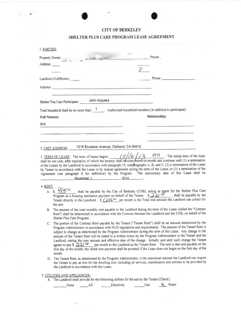 Kaipaka Shelter Plus contract pg1 rem