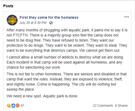 Mike Zint says FTCFTH lost Aquatic park (2)