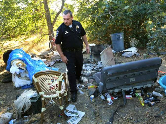 Homeless Camp Dangers:  Garbage, Vermin, Fires, Disease, and The Thankless Task for Police Clearing Out the Camps