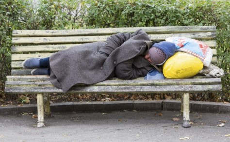 Denmark homeless