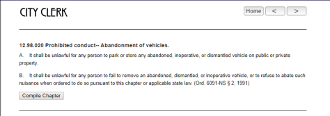 Berkeley city law on inoperable vehicles (2)