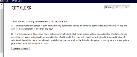 Berkeley city law on RV and Commerical vehicle parking (2)