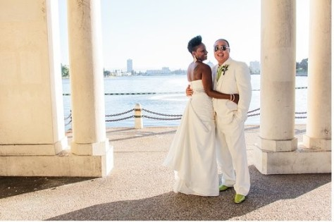 Lake Merritt wedding photo 1