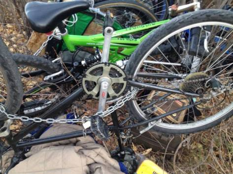 Stolen belongings found in homeless camp 2