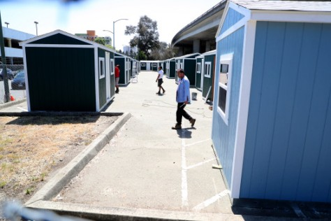 TUFF SHED TEMPORARY HOUSING UNITS OAKLAND