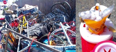 Bike parts Gilman st camp