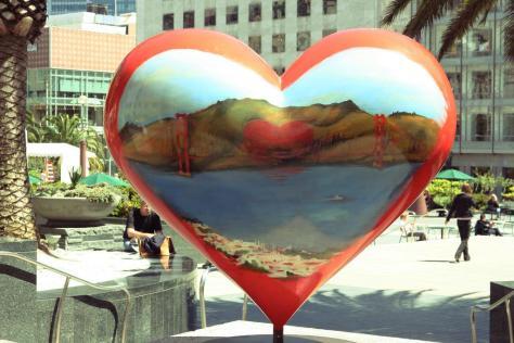 I left my heart in San Francisco: Photo by Flickr user-  TheGirlsNY