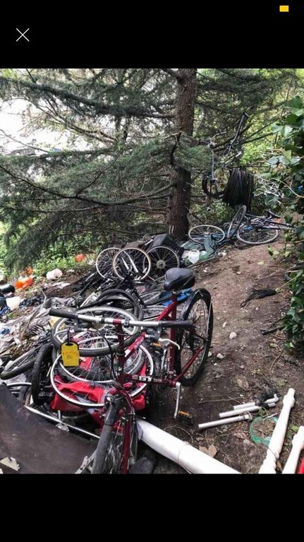 Homeless Camps and Bike Theft