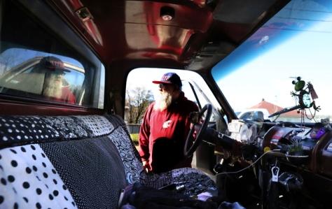 SEattle man living in truck