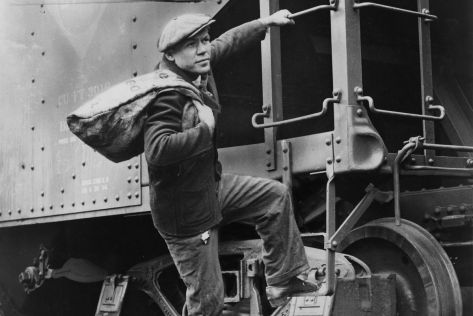 Hobo and Train