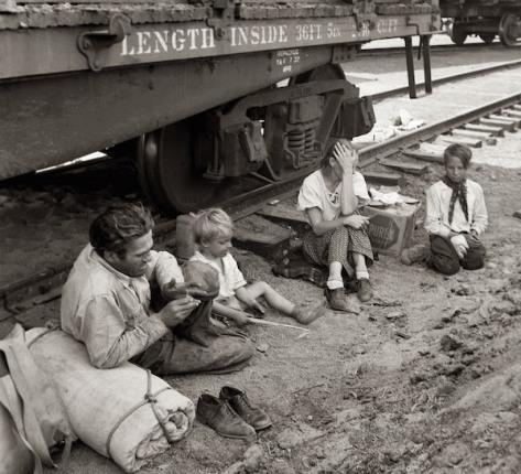 Hobo family 1939