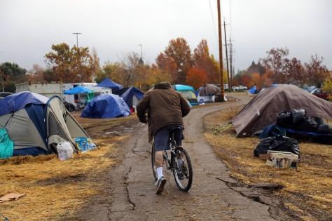 Homeless after Camp Fire