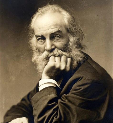 Walt Whitman b and w