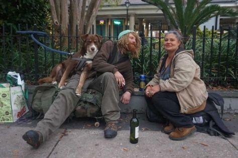 homeless in nola