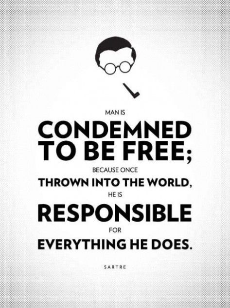 Man condemned to be free